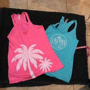 Tops - Set of two workout shirts